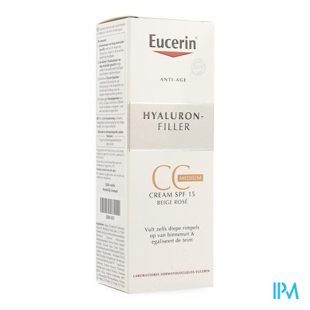 Eucerin Hyaluron Filler Cc Creme Medium 50ml