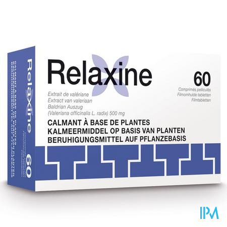 RELAXINE 500MG COMP PELL  60                       (médicament)