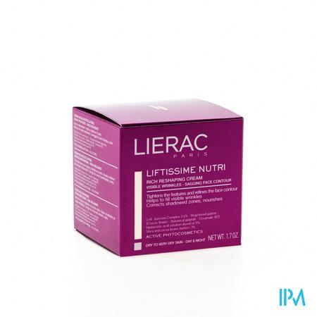 Afbeelding Lierac Liftissime Nutri Rijke Modellerende Dag- en Nachtcrème voor Droge tot Zeer Droge Huid Pot 50 ml.