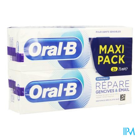 Oral-b Tp Repair Original 2x75ml Promo -1€