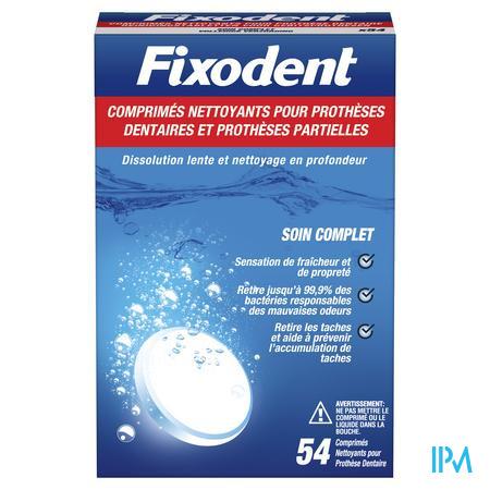 Fixodent Reinigings Tabletten Comp 54