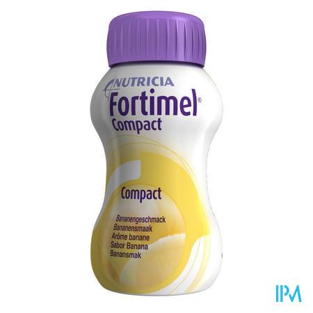 Fortimel Compact Banaan 4x125 ml
