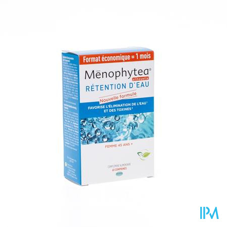 Menophytea Rétention D'eau 60 comprimés