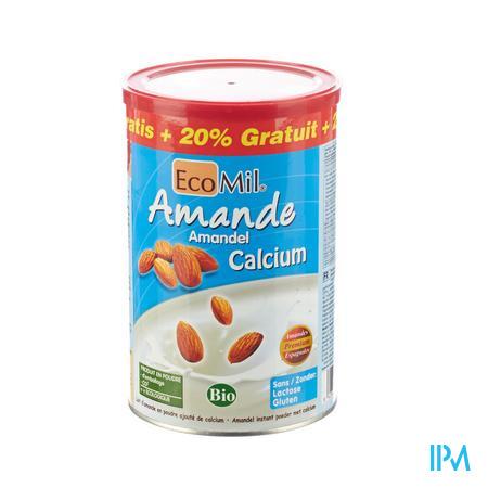 Ecomil Amandel + Calcium 400 g