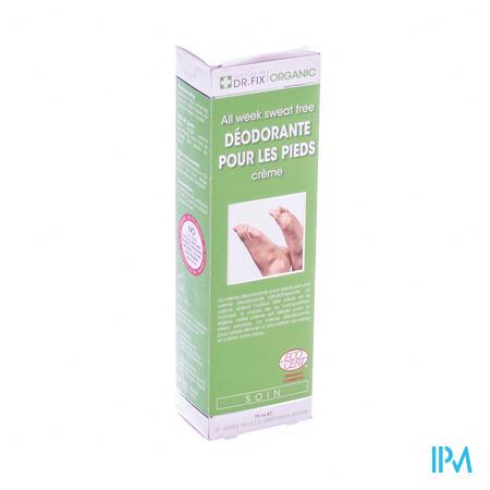 Dr Fix Organique Deodorant Creme Pour Les Pieds 75 ml crème