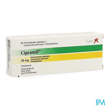 Cipramil Impexeco Comprimés Pelliculés 28 X 20mg Pip