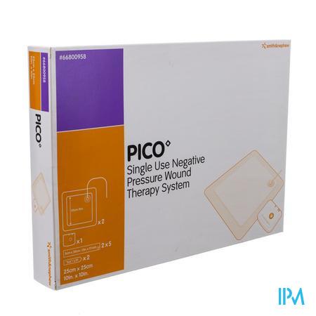 Pico Kp Steriel Siliconen 25x25cm 1x2 66801365