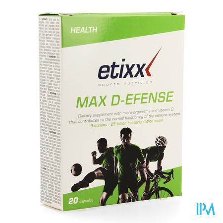 Etixx Max D-efense Caps 20