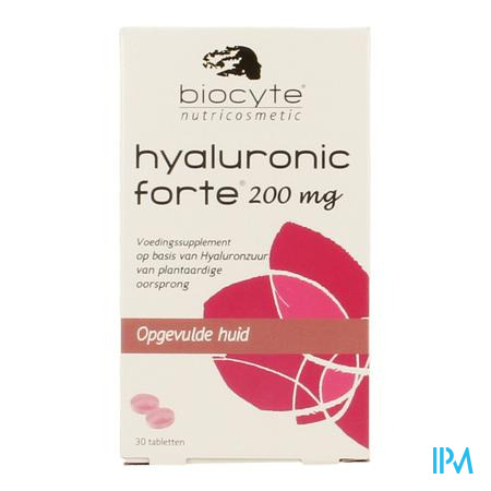 Biocyte Hyaluronic Forte 200mg 30 tabletten