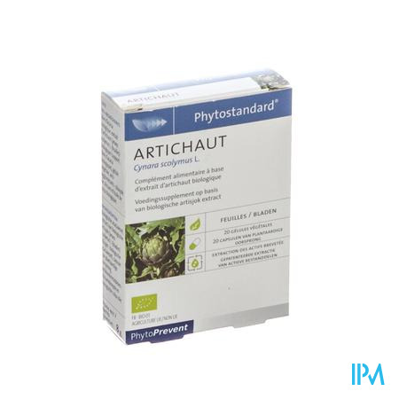 Phytostandard Artisjok 20 capsules