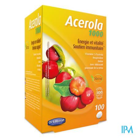 Acerola 1000 Tabletten 100 Orthonat  -  Trenker