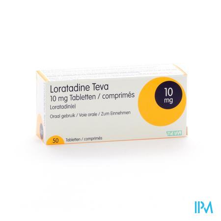 Loratadine Teva 10 mg Tabletten 50 X 10 mg