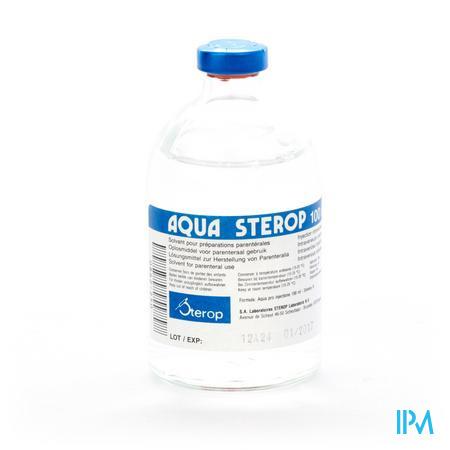 Aqua Sterop Inj 100ml