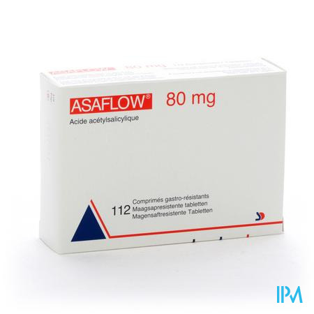 Farmawebshop - ASAFLOW NYCOMED COMP PELL 112X 80MG