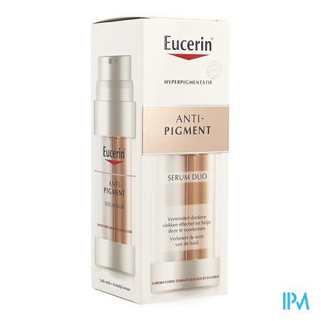 Afbeelding Eucerin Anti-Pigment Serum Duo voor Effectieve Vermindering en Preventie van Donkere Vlekken en Verbetering van de Teint Flacon 30 ml.