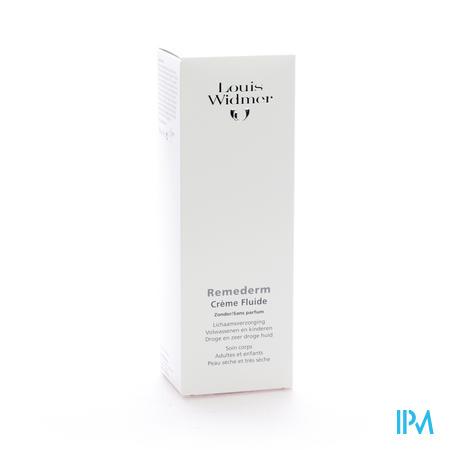 Widmer Remederm Creme Fluide N/parf 200ml