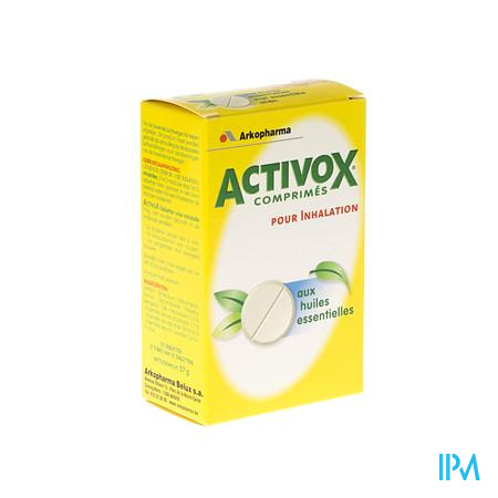 Activox Inhalation Tube 2x10 comprimés