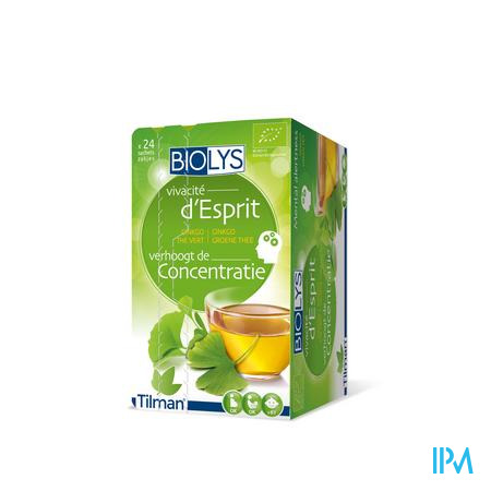 Biolys Ginkgo The Vert Sach 24