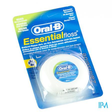 Oral B Floss Essential Mint Waxed 1 pièce
