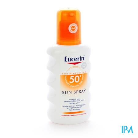 Eucerin Sun UV 50+ 200 ml spray