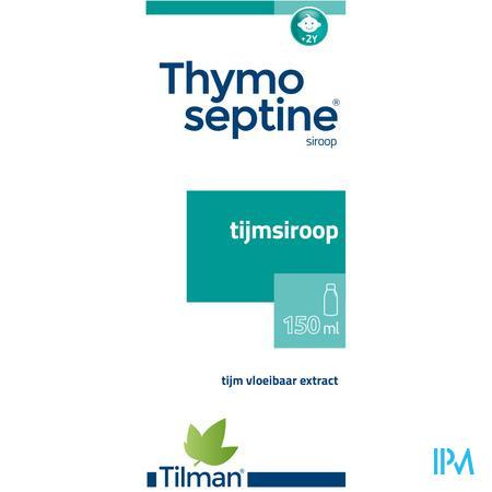 Thymoseptine Siroop 150 ml  -  Tilman