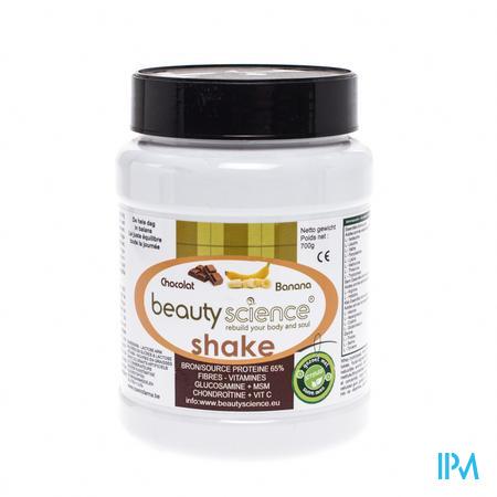 Beautyscience Chocolat/Banane Protéine Shake 700 g