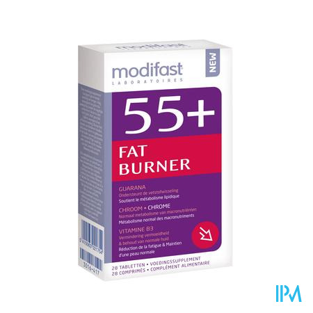 Modifast 55+ Fat Burner 28 tabletten