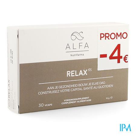 Alfa Relax V-caps 30 Promo -4€