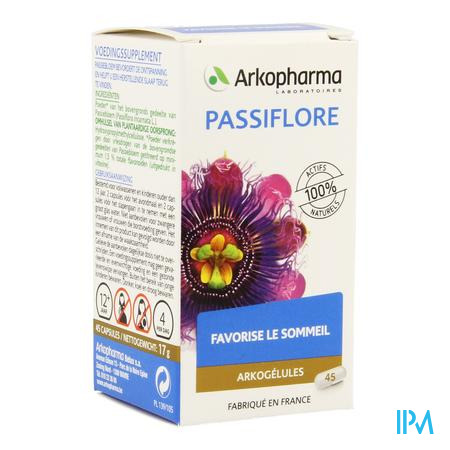 Arkocaps Passiebloem Plantaardig 45