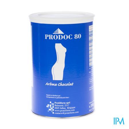 Prodoc 80 Milk-shake Chocolat 350 g poudre