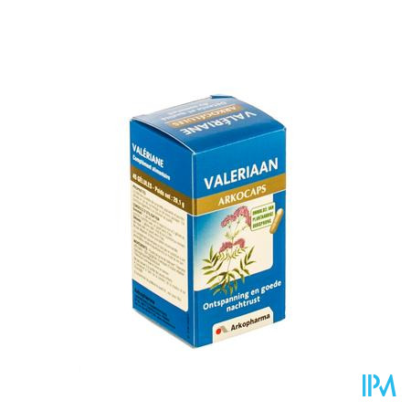 Arkocaps Valeriaan Plantaardig 45 capsules