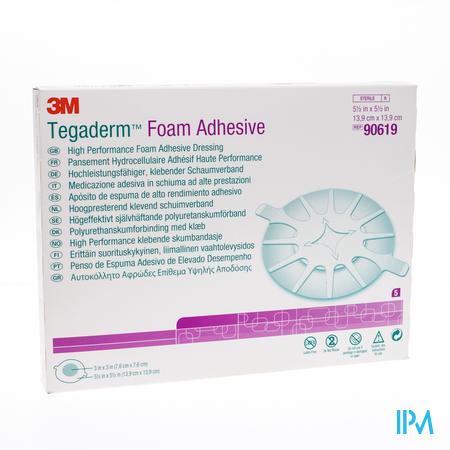 Tegaderm Foam Dressing Adhesive 13,97x13,97cm 5 90619