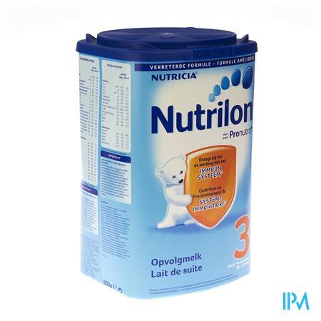 Nutrilon 3 + Pronutra 800 g