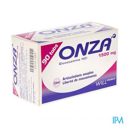 Onza 1500 mg Articulations Souples Comprimés 90