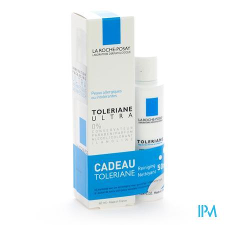 La Roche Posay Toleriane Ultra Allergie sans coservateurs 40 ml  -  La Roche Posay