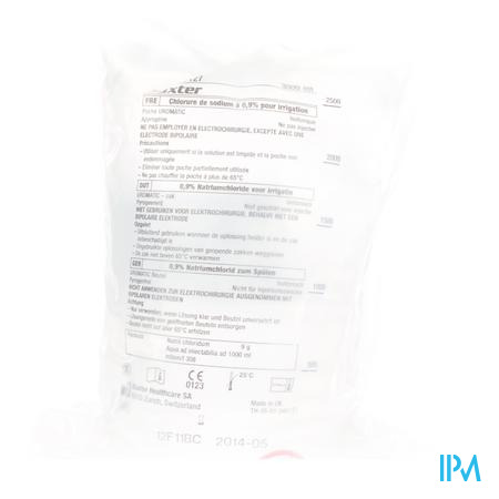 Bx Pl Uromatic Nacl 0,9% 3l