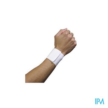Bota Serre-poignet Elast Velcro White L