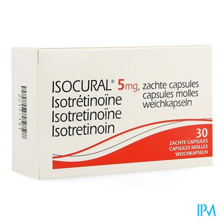 Isocural 5mg Pierre Fabre Dermato Caps 30 X 5mg