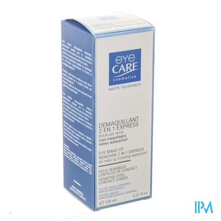 Eye Care 2in1 Make-up Remover Gev.ogen Wtp 150ml