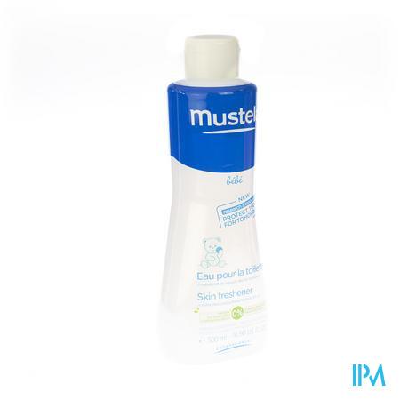 Mustela Bb Eau Pour La Toilette Nf Fl 500ml