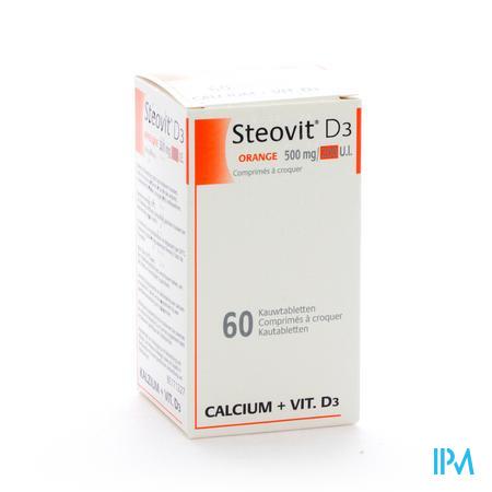 Steovit D3 500 mg/200UI Comprimés 60
