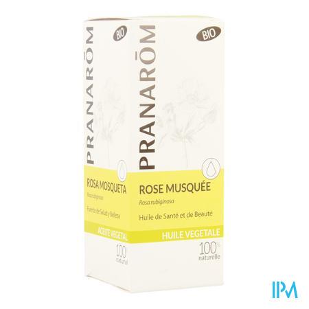 Rose Musquee Bio Huile Végétale 50 ml Pranarom