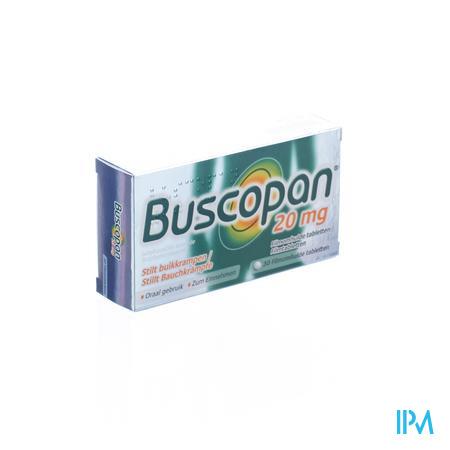 Buscopan 20mg Omhuld 30 tabletten