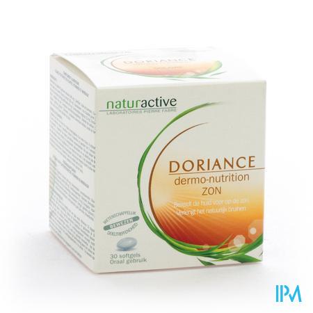 Doriance Dermonutrition Zon 30 capsules