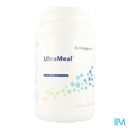 Ultrameal Chocolade Pdr 630g 78 Metagenics