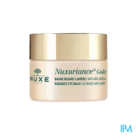 Nuxe Nuxuriance Gold Baume Regard Lumiere 15ml