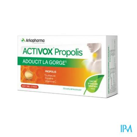Activox Propolis Pastilles Citrus Comp 24