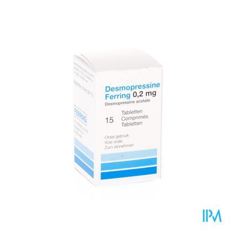 Desmopressine Ferring Tabletten 15 X 0,2 mg