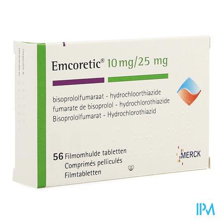 Emcoretic 10/25 Dragee 56