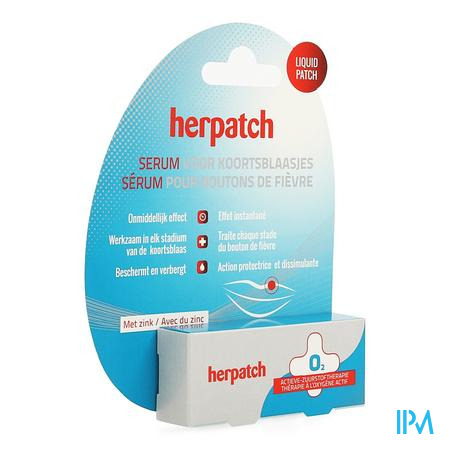 Herpatch Serum Koortsblaasjes Tube 5ml